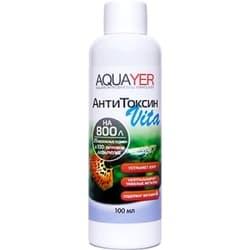 Средство для воды AQUAYER АнтиТоксин Vita, 100 mL