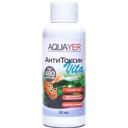 Средство для воды AQUAYER АнтиТоксин Vita, 60 mL