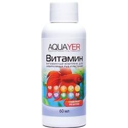 Средство для воды AQUAYER Витамин 60 мл