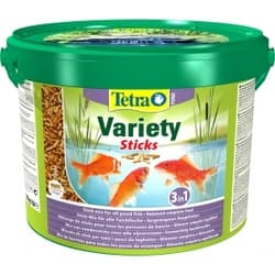 Корм для прудовых рыб Tetra Pond Variety Sticks 1650гр/10л смесь палочки