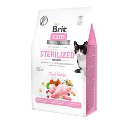 Брит 2кг Care Cat GF Sterilized Sensitive для стерилизованных кошек с чувствительным пищеварением 540761