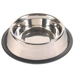 Трикси Миска металлическая с резиновым основанием 20 см, 1,75 л, арт. 24854