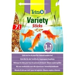 Корм для прудовых рыб Tetra Pond Variety Sticks 1020гр/7л смесь палочки