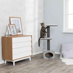 Трикси Домик для кошки Galeno, 109 см, серый, арт.43827