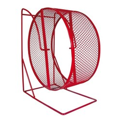 ТРИКСИ Колесо для грызунов на подставке, метал. сетка, АРТ.61002