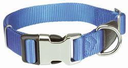 Трикси Ошейник Premium с комбинированной застёжкой, L–XL: 45–70 см/25 мм, королевский синий, арт.202602