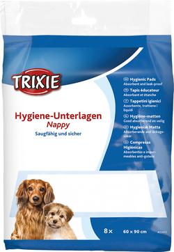Трикси Одноразовые пеленки для собак с абсорбирующим полимером, 60х90 см, 8 шт. артикул .23413