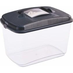 PetInn  Контейнер/переноска Amber maxi пластиковый (20х31х22) (8,5л)