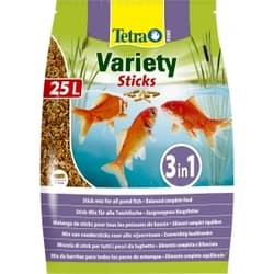 Корм для прудовых рыб Tetra Pond Variety Sticks 25л смесь палочки