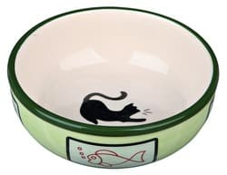Трикси Миска керамическая для кошки 0,35 л /ф 12,5 см, арт. 24658
