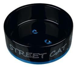 Трикси Миска керамическая Street Cat, 0.3 л/ф 12 см, арт. 24659