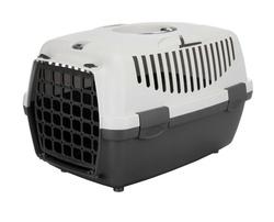 Trixie Переноска для собак Capri 1, XS 32х31х48 см, артикул 39811 тёмно-серый/светло-серый