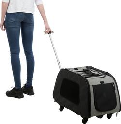 Трикси Транспортная сумка-тележка на колесиках 34х43х67 см, арт.28949
