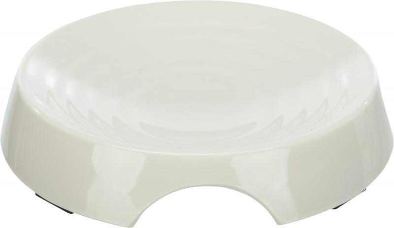 Трикси Миска для кошек, меламин, 0.25 л/17 см, белый, арт.25189