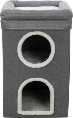 Трикси Домик для кошки Saul, 64 см, серый, арт.44433