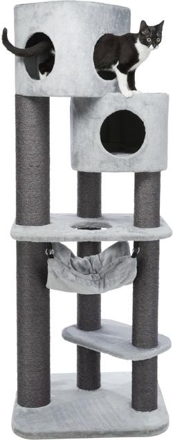Трикси Домик для кошки Pirro, 174 см, серый, арт.44701