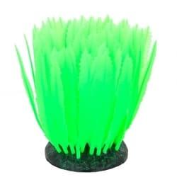 Флуорисцентная аквариумная декорация GLOXY Морская лилия зеленая, 10х7,5х11см