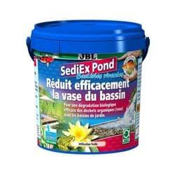 JBL SediEx Pond - Средство для эффективного биологического удаления ила из садовых прудов, 250 г на 2500 литров воды