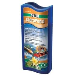 JBL CleroPond - Препарат для борьбы с помутнениями воды всех видов в пруду, 500 мл на 10000 литров воды