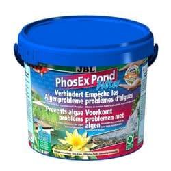 JBL PhosEx Pond Filter - Наполнитель для прудовых фильтров в форме гранул для устранения фосфатов в садовом пруду, 2,5 кг на 25000 литров воды