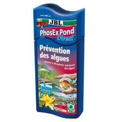 JBL PhosEx Pond Direct - Препарат для устранения фосфатов в садовом пруду, 500 мл на 10000 литров воды