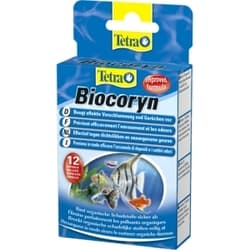 Tetra Кондиционер для разложения органики BIOCORYN 24 капсул на 1200л