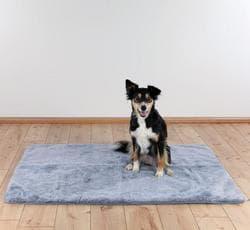 Подстилка для собак 75х 50 см., нескользящая, серая артикул 28651