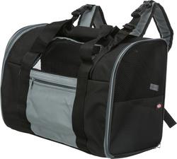 Трикси Сумка-рюкзак Connor для кошек и собак до 8 кг, 42х29х21см, нейлон, чёрный/серый, арт.2882