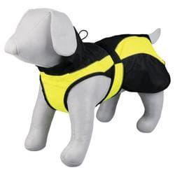 """Попона для собак """"Safety"""" ,М 50 см черный/желтый 30205"""
