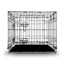 Клетка Triol 004-2K для животных c 2 дверцами, эмаль, 905х560х635мм