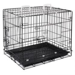 Клетка Triol 002-2K для животных c 2 дверцами, эмаль, 610х455х520мм