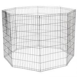 Вольер Triol K42 для животных, 8 секций, эмаль, 610х1070мм