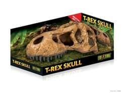 Убежище-декор для рептилий EXO TERRA Череп тираннозавра Рекса для террариума
