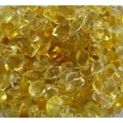 Грунт стеклянный желтый 1кг 4-7мм