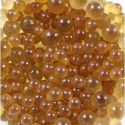 Грунт стеклянный медовый 1кг 3-7 мм