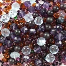 Грунт стеклянный микс №1, 1кг 2-7 мм