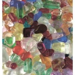 Грунт стеклянный разноцветный 1кг 4-7мм