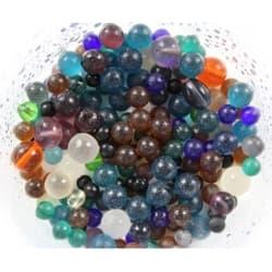 Грунт стеклянный цветные шары 1кг 3-6мм