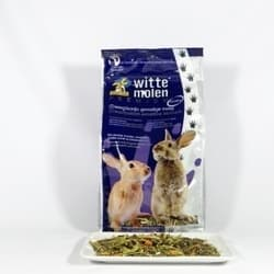 Корм для карликовых кроликов с проблемным пищеварением Witte Molen Prem. (Dwarf)Rabbit Sensi 800г