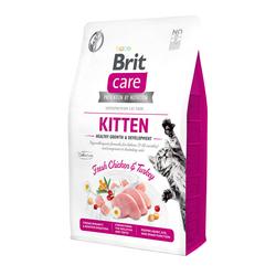 Брит 2кг Care Cat GF Kitten Healthy Growth & Development для котят, беременных и кормящих кошек 540679