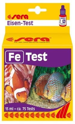Sera Тест для воды Fe-Test 15 мл