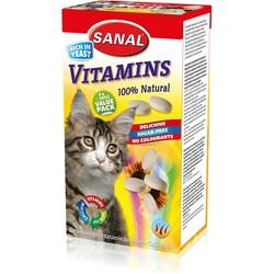 SC3005 SANAL VITAMINS д/кошек 400г, (Содержит В1, В2, В6, В12)