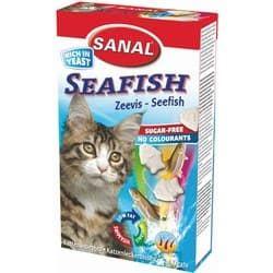 SC3400 витамины для кошек SANAL Seafish 85 таб./50 г