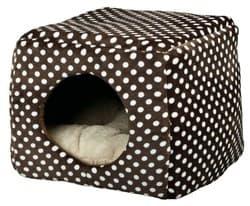 Трикси Лежак-пещера Mina, 40 × 32 × 40 см, коричневый/бежевый,  арт.36324
