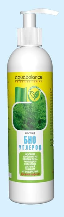 Аквабаланс для аквариума Био-углерод 250 мл