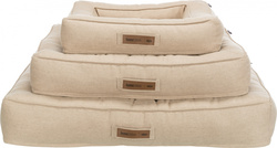Трикси Лежак с бортиком Lona, прямоугольный, 80х60 см, песочный, арт.37661