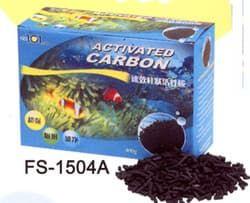 """Наполнитель для аквариумных фильтров """"ACTIVATED CARBON"""" уголь активированный 400гр"""