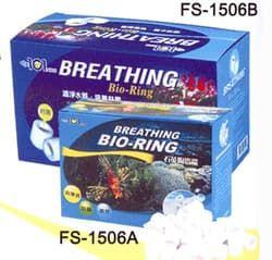 """Наполнитель для аквариумных фильтров керамический """"BREATHING BIO-RING"""" 450гр"""