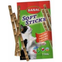 SC3850 SANAL витамины для кошек Soft Sticks Ягненок и Рис 3шт по 5г