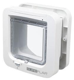 Trixie Дверца для кошки SureFlap, 21х21см, белая артикул 38530